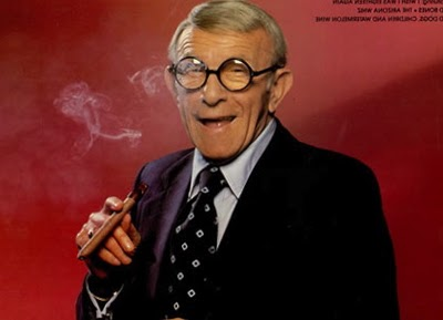George Burns in his own words