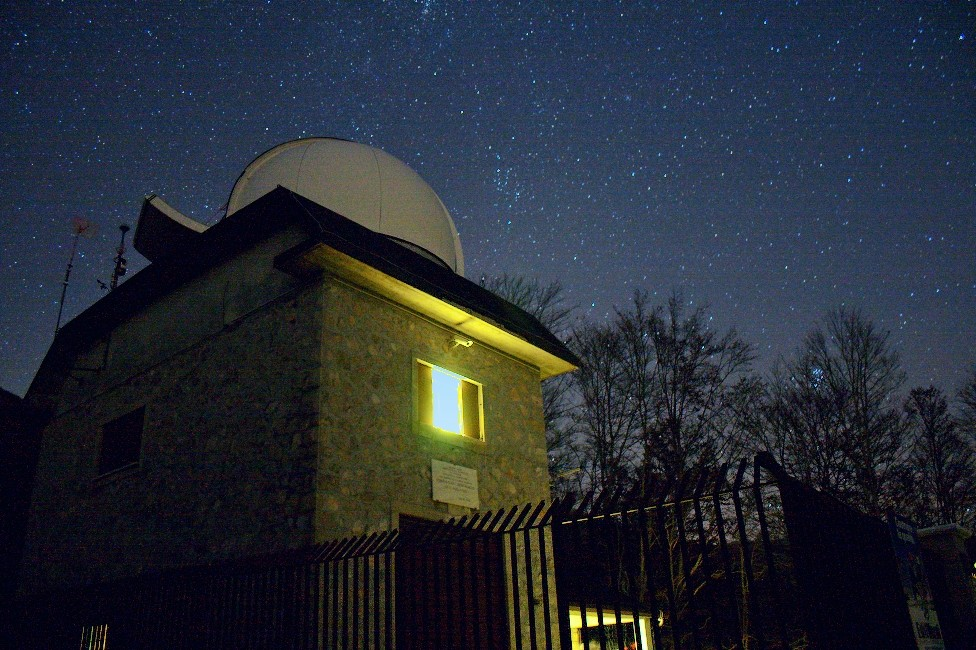 Visiting the Astronomical Observatory of Campo Catino, a delight for the Astrotourist