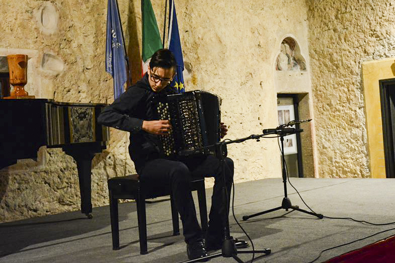 Alessandro Pagliari, world classical accordion champion