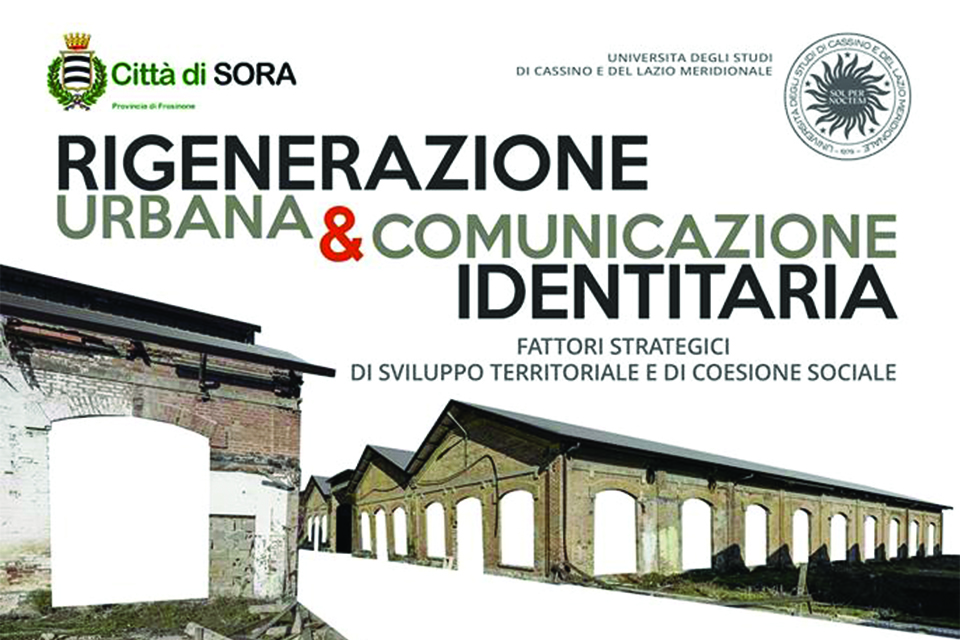19 October - Sora: territorial identity as a basis for Urban Regeneration