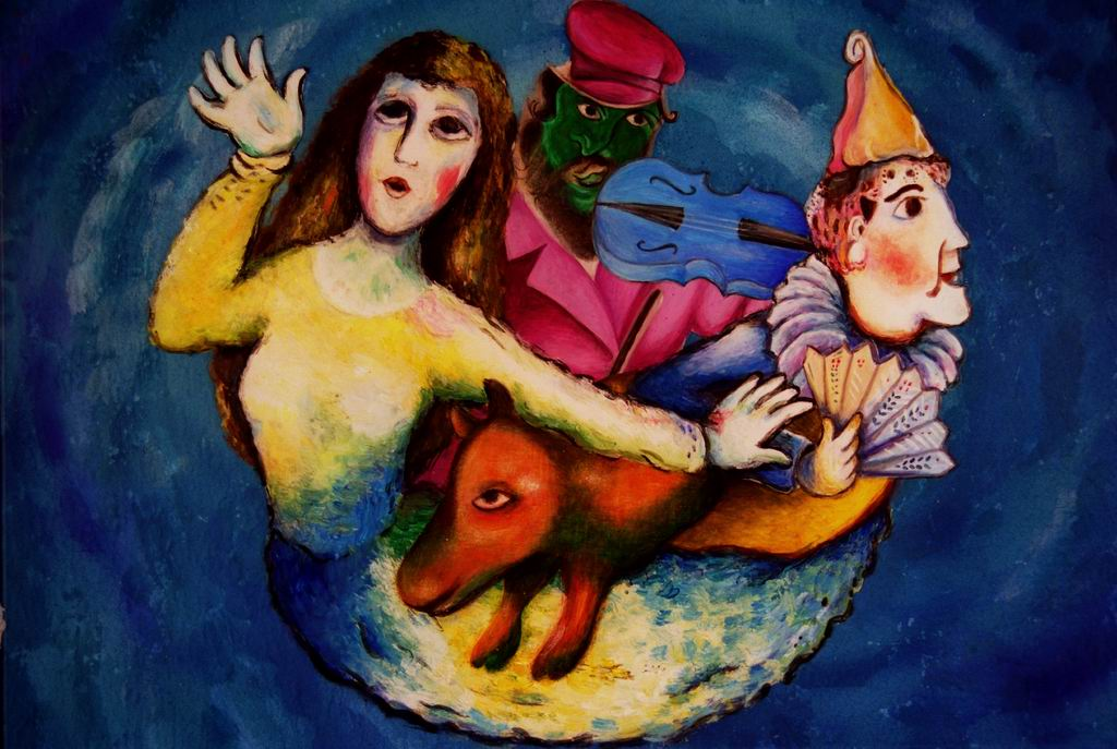 Exhibition – Show on Marc Chagall: Dream of a Summer Night