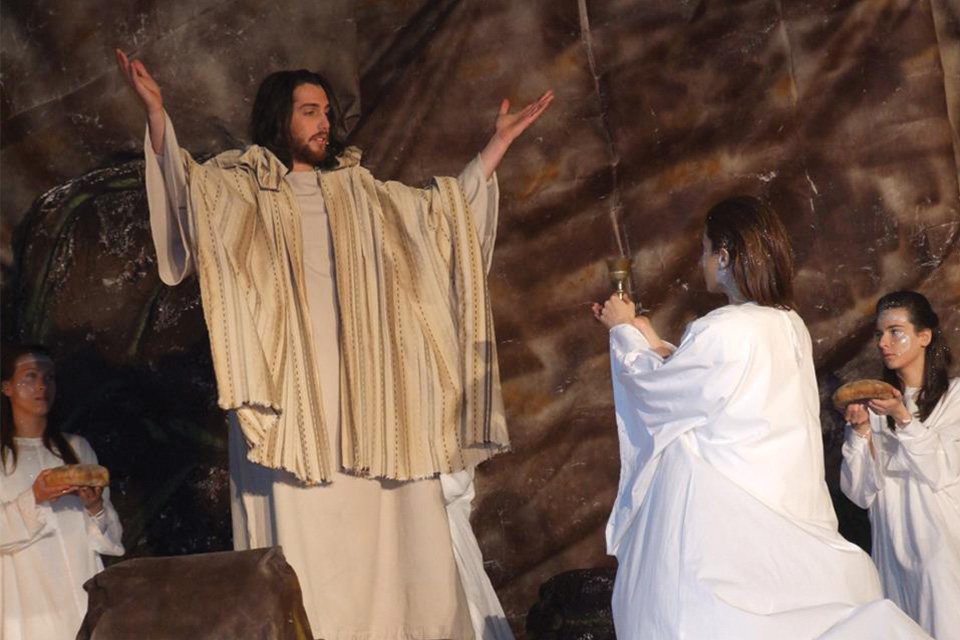 Participating in an emotional event: Holy Performance of Good Friday in Valmontone