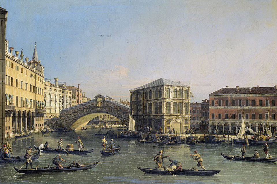 Canaletto, greatest of the vedutisti