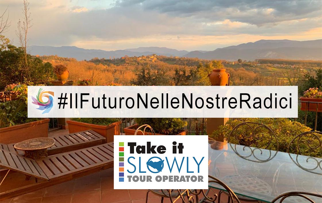 7 May: Take It Slowly signs up to our contest #IlFuturoNelleNostreRadici (#TheFutureInOurRoots)